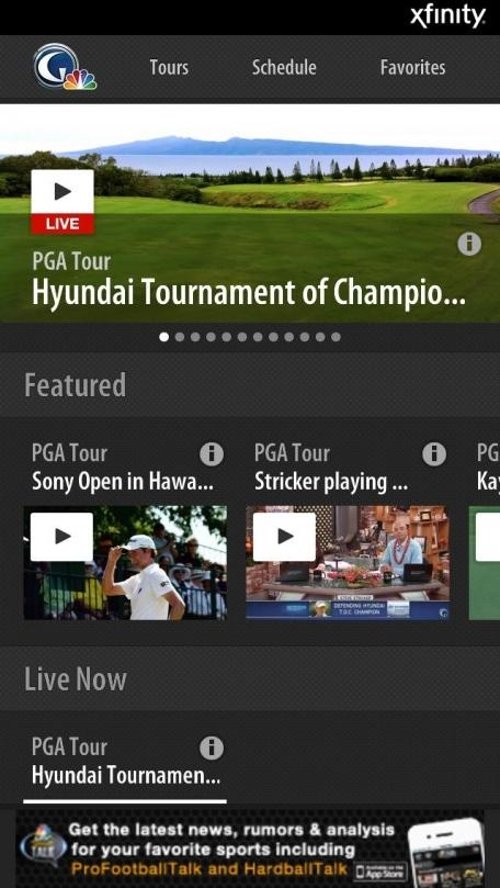 Golf Live Extra