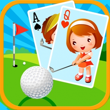 Golf Solitaire Mania HD Free - Classic Fairway Puzzle Game App