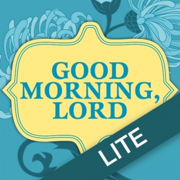 Good Morning Lord Devotional Journal by Sheila Walsh Lite