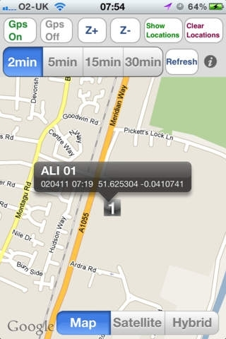 Gps Vehicle/Child/iPad Location Tracking for iPhone
