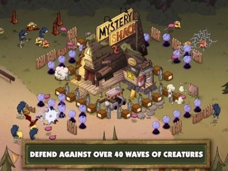 Gravity Falls Mystery Shack Attack