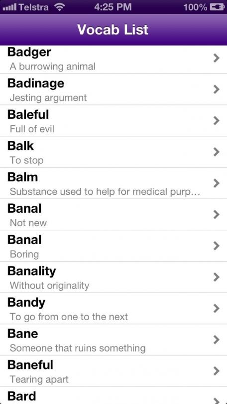GRE Vocabulary GRE Vocabulary Lists