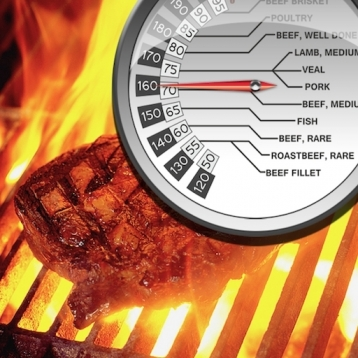 Grill & BBQ Infrared IR Thermometer