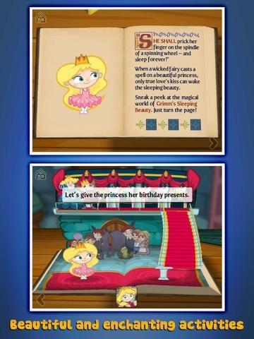 Grimm's Bookshelf ~ 3D Interactive Pop-up Books