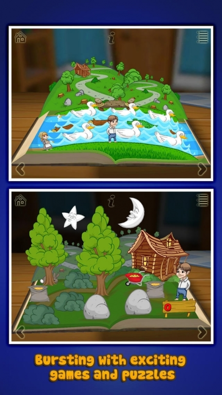 Grimm's Hansel and Gretel ~ 3D Interactive Pop-up Book