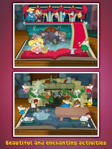 Grimm's Sleeping Beauty ~ 3D Interactive Pop-up Book