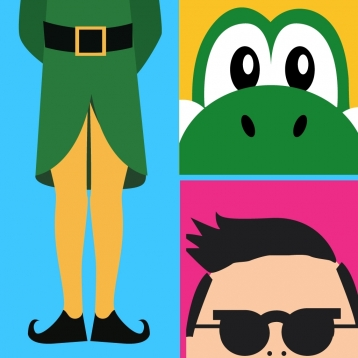 Guess The Icon: Music, Movies, Games