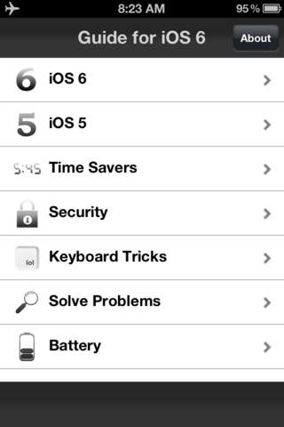 Guide for iOS 6 - Professional Edition (Tips& Tricks)