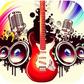 GUITAR & VOICE Backing Tracks - Italian Rock -