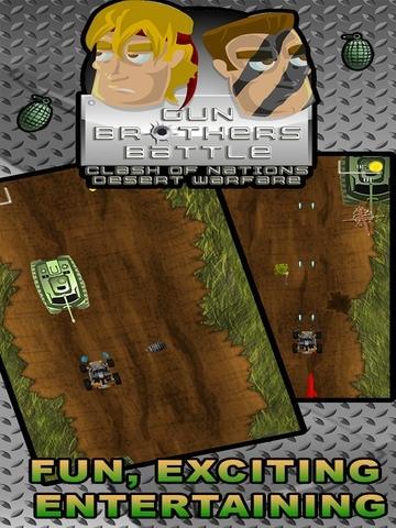 Gun Brothers Battle-Clash of Nations Desert Warfare 2