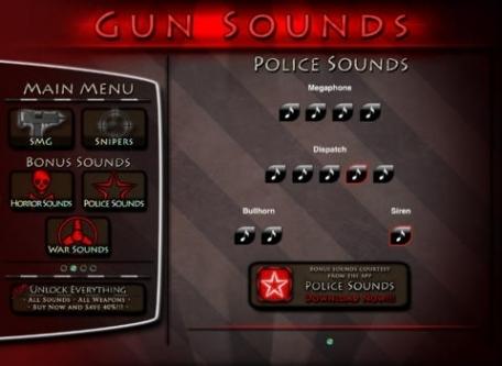 Gun Sounds Catalog