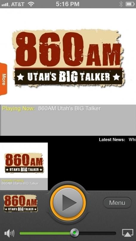 860AM Utah's BIG Talker