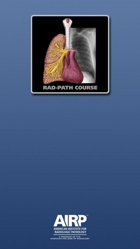 AIRP Rad-Path Correlation Course
