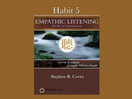 Habit 5: Empathic Listening: The Key to Communication with video
