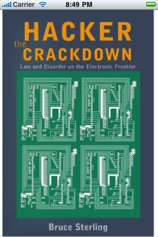 Hacker Crackdown by Bruce Sterling-iRead Series