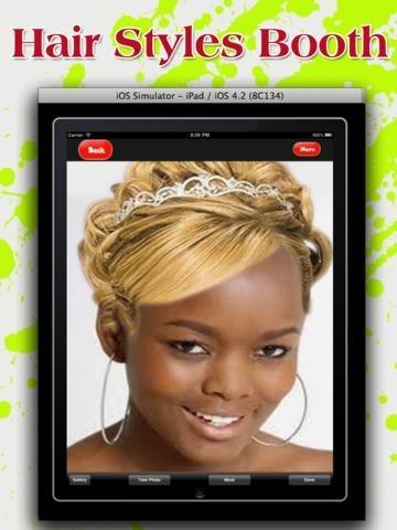 hair styles booth