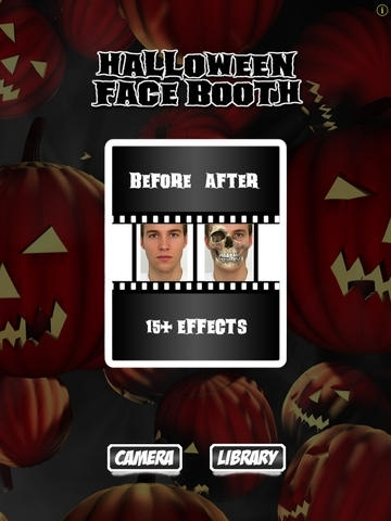 Halloween Photo Booth: Free Scary Monster Face Blender