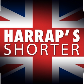 Harrap\'s Shorter dictionary