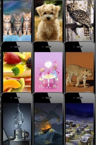 HD Wallpapers & Backgrounds for iPhone/iPod touch