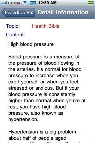 Health Bible A-Z
