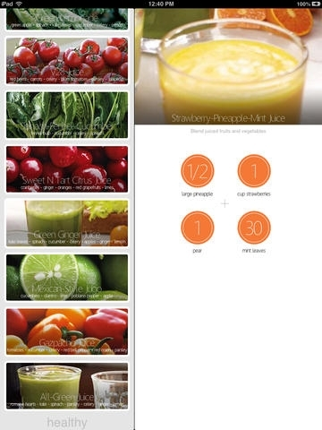 Healthy Juices - 30 Delicious Recipes