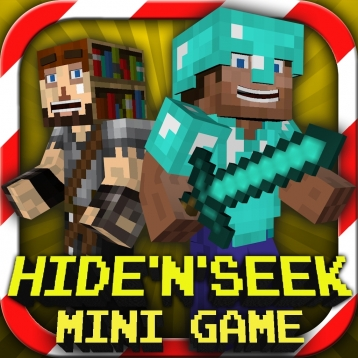 Hide N Seek : MC Mini Game With Worldwide Multiplayer