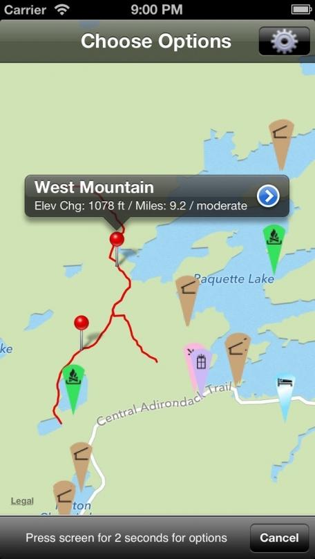 Hiking Central Adirondack Region