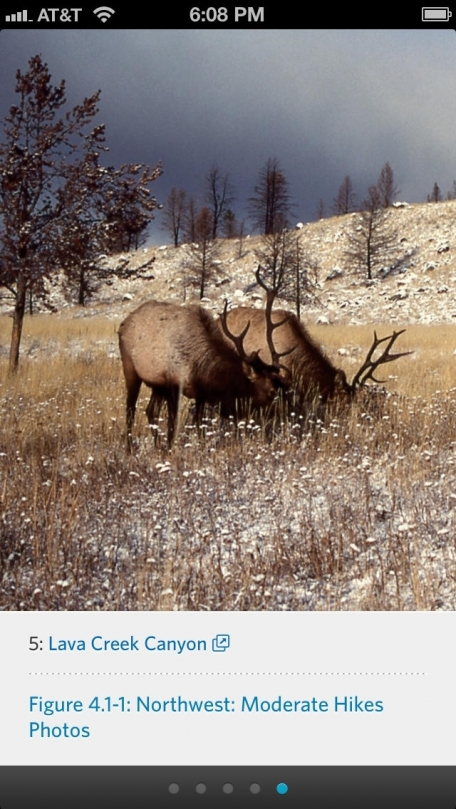 Hiking Yellowstone National Park - Official Interactive FalconGuide by Bill Schneider