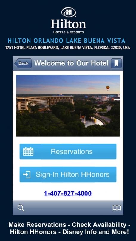 Hilton Orlando Lake Buena Vista Notescast