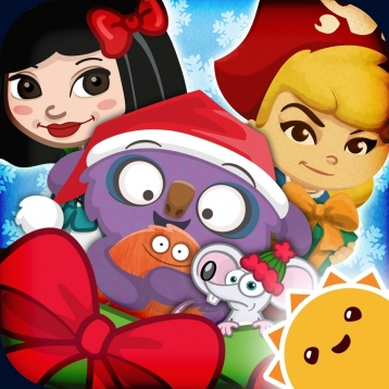 Holiday Countdown ~ 3D Interactive Sticker Book