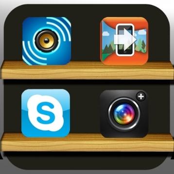 Home Screens Retina HD - Icon Skins  (640x960)