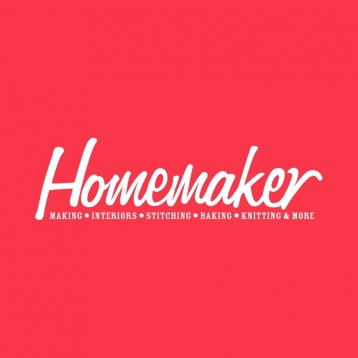 Homemaker – homemade crafts magazine with knitting, crochet, sewing, stitching and much more