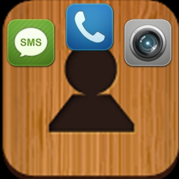 homescreen contact : one touch speed dialer