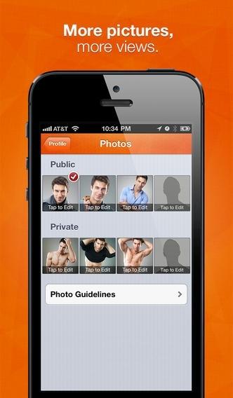 Social network gay