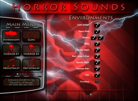 Horror Sounds - SoundBox