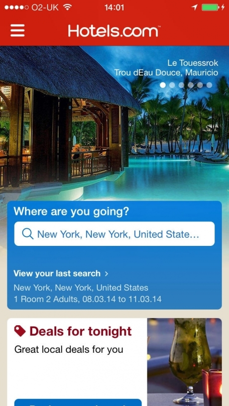 Hotels.com – Hotel Booking and last minute hotel deals
