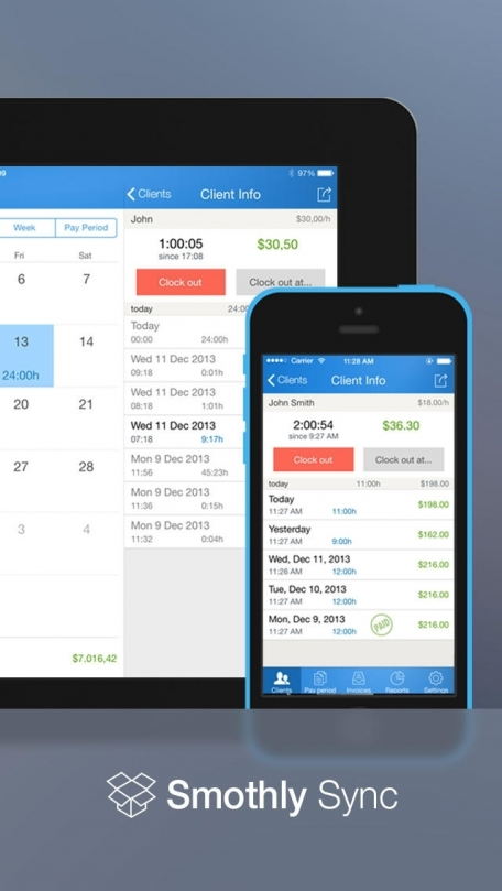 Hours Keeper Pro - Time Tracking, Timesheet & Billing