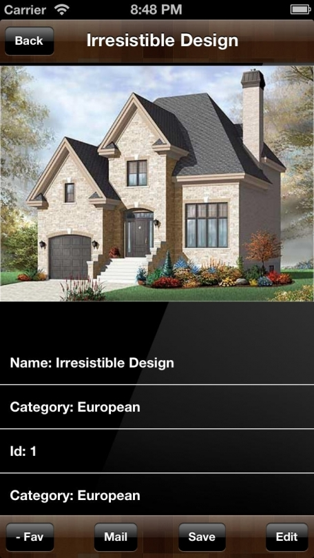 House Plans-European Projects