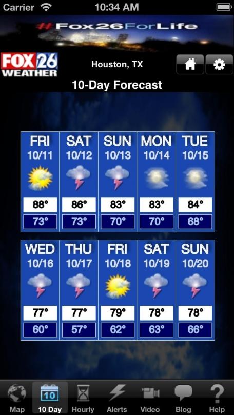 Houston Weather - FOX 26 Radar, Forecast, Alerts