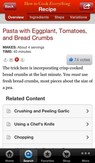 How to Cook Everything for iPhone