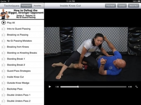 How to Defeat the Bigger, Stronger Opponent in No Gi. Volume 12: No Gi Guard Passing, with Emily Kwok & Stephan Kesting