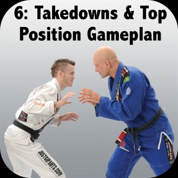 How to Defeat the Bigger, Stronger Opponent. Volume 6: Takedowns and Top Position Gameplan, with Brandon Mullins and Stephan Kesting
