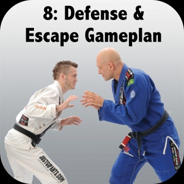 How to Defeat the Bigger, Stronger Opponent. Volume 8: Defense and Escape Gameplan, with Brandon Mullins and Stephan Kesting