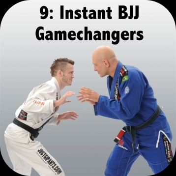 How to Defeat the Bigger, Stronger Opponent. Volume 9: Instant BJJ Gamechangers, with Brandon Mullins and Stephan Kesting