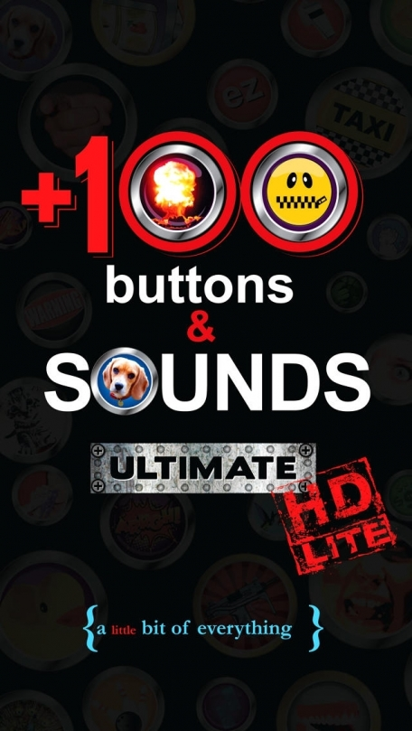 +100 Buttons and Sounds Ultimate HD Lite