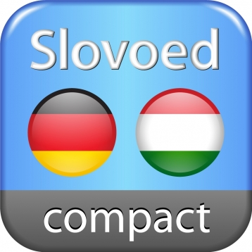 Hungarian <-> German Slovoed Compact talking dictionary