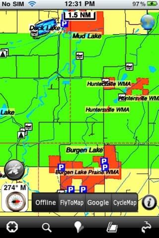 Hunting Map - Minnesota