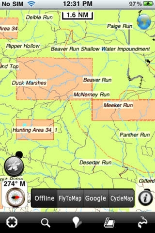 Hunting Map - Pennsylvania