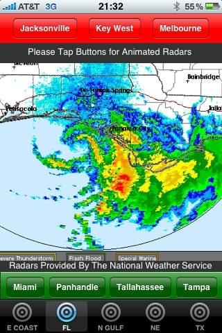 Hurricane Radars