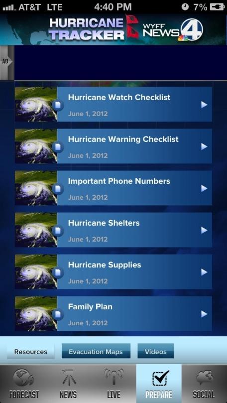 Hurricane Tracker WYFF4 - Greenville, Spartanburg, Anderson, Asheville